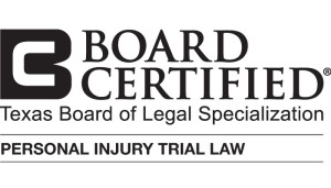 Board Certified in Personal Injury Trial Law
